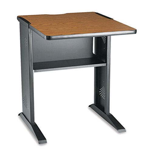 SAF1934 - Melamine, Steel - Safco Fax/Printer Stand with Reversible Top - Each -