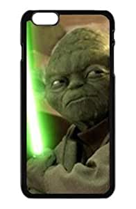 Alexgeorge Top Design Star Wars Character Yoda With White Green Sword Fashion Case for iphone 5 5s