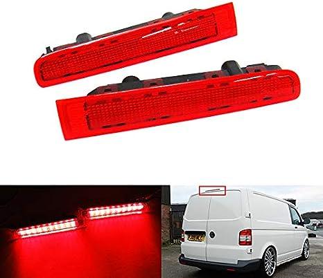 11/Transporter T5/Caravelle Multivan 2/x rouge objectif pare-chocs arri/ère R/éflecteur Feux Stop /à LED Fog lumi/ère pour 2003