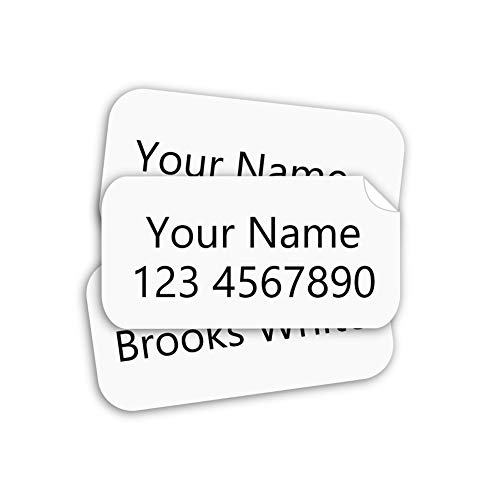 Stick on Clothing Labels, Stick-n-Wear Labels Personalized with Your Name! (180)