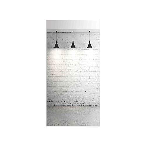 Cheap  3D Decorative Film Privacy Window Film No Glue,Abstract Home Decor,Brick Concrete Room..