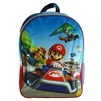 "Nintendo Mariokart Supermario 16"" Backpack"