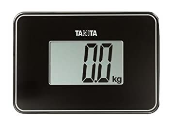 Black Tanita Super Compact Personal Scale HD386BK