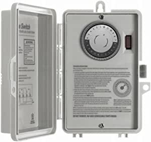 Ge 15207 24 Hour Electrical Water Heater Timer Wall