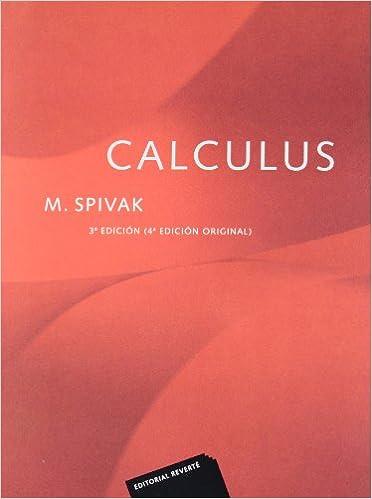 Calculus (3 Ed.): por José María Oller Sala epub