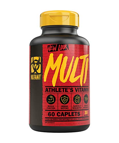 Mutant Multi – High Potency Vitamins with 75+ Ingredients Specifically Formulated for Heavy Lifting, 60 Tablets