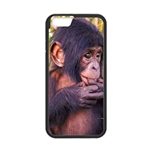 "WINDFC Baby Monkey Phone Case For iPhone 6 Plus (5.5"") [Pattern-1]"