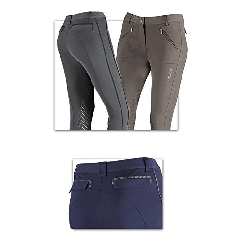 TATTINI since 1860 - PETUNIA Equestrian Ladies BREECHES - Italian Design - New (Extended Patch Breech)