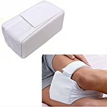 Soft Cotton Leg Knee Ease Kneecap Pillow Sponge Bed Back Leg Pain Support Cushion