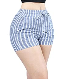 Women Hot Weather Casual Dressy Drawstring Skirt Shorts Pants Collection