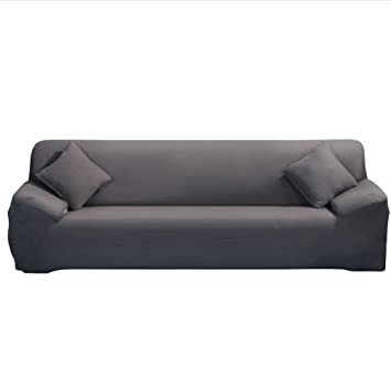 Amazon.com: ele ELEOPTION Sectional Sofa Covers L Shape for ...