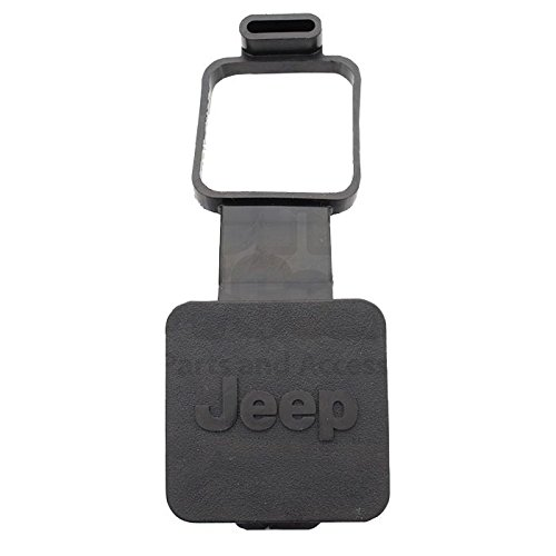Mopar Receiver Plug - 2002-2012 Jeep Liberty Hitch Receiver Plug - Jeep logo