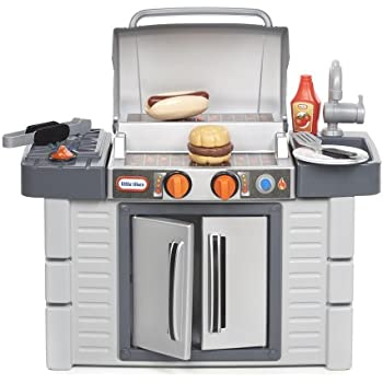 Amazon.com: Little Tikes Get Out n\' Grill Kitchen Set: Toys & Games