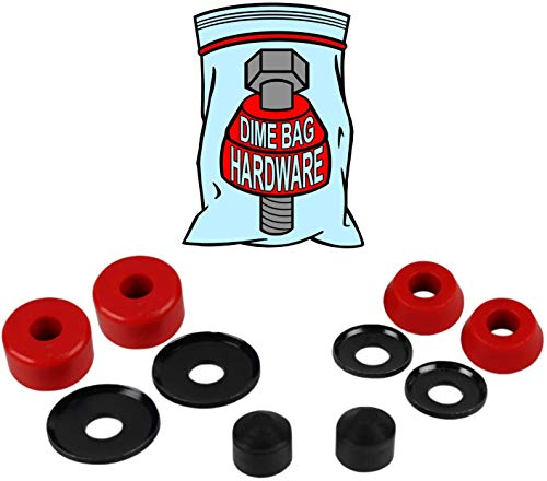 Skateboard 8 Pieces Brand New Thickened Bushings Washers for Longboard