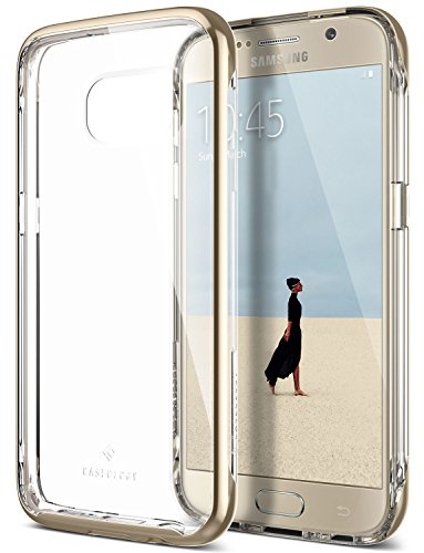 Galaxy S7 Case, Caseology [Skyfall Series] Transparent Clear Slim Protective Scratch Resistant Air Space Technology for Samsung Galaxy S7 (2016) - Gold