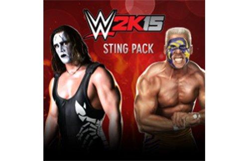 WWE 2K15 - Sting Pack - PS4 [Digital (Wwe 2k15 Ps4 Game)
