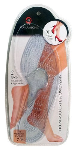 nbsp; Insoles Massaging For Reflexology Nakamichi Women AvqXw