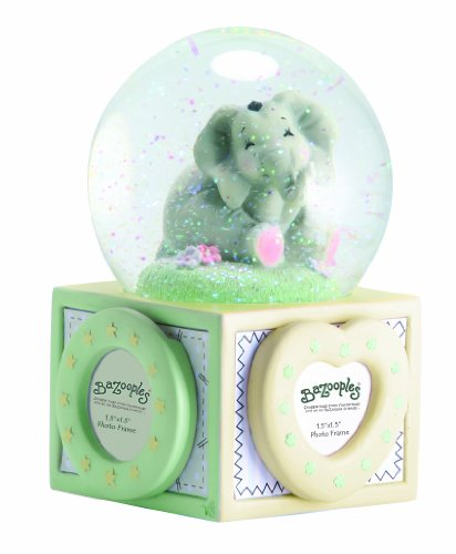 Precious Moments Elsie Water Globe with Photo Frames Figu...