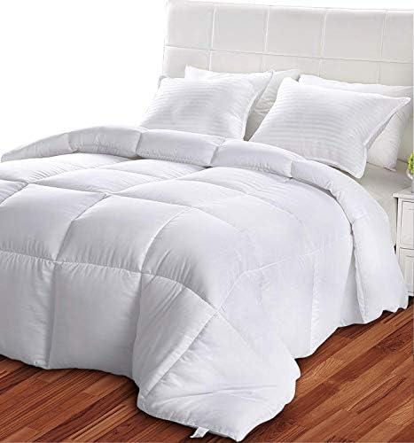 Utopia Bedding Légère Couette - Couette en Microfibre (135 x 200 cm, Blanc)