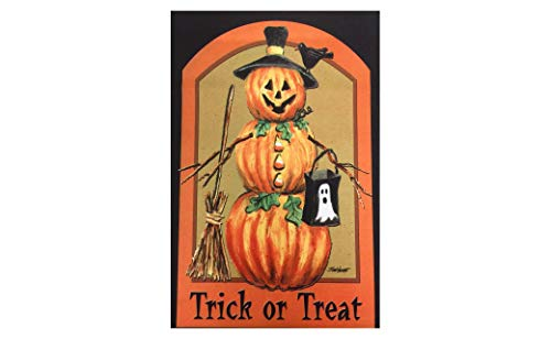 51groups Fall & Halloween Decorative House Flag 28
