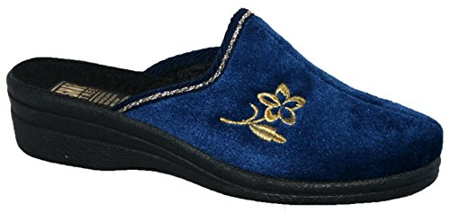 Shoe Tree - Zapatillas de estar por casa de Material Sintético para mujer Azul - azul marino