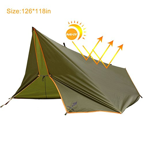 FREE SOLDIER Lightweight Waterproof Tarp Sunshade Tent