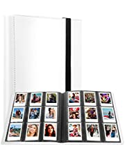 432 Pockets Photo Album for Fujifilm Instax Mini Camera, Polaroid Snap Snap Touch PIC-300 Z2300 Instant Camera, Instax Mini Album for Fujifilm Instax Mini 11 90 70 9 8+ 8 LiPlay Instant Camera (White)