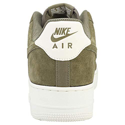 uomo 200 Nike medio medio Scarpe Air multicolore scarpe 1 Force da oliva vela sportive scamosciate oliva '07 zxaxdqBCw