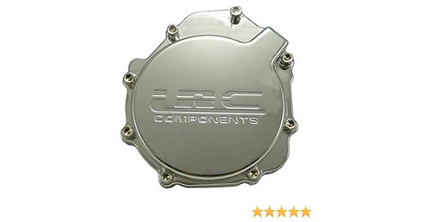 Yana Shiki SCS301CH Chrome Billet Windowed Unengraved Stator Cover for Suzuki GSX-R 1000