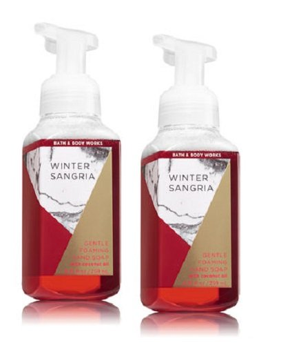 Bath and Body Works Gentle Foaming Hand Soap, Winter Sangria (2-Pack) 8.75 Ounce ()