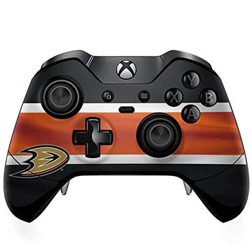 Skinit Anaheim Ducks Jersey Xbox One Elite Controller Skin - Officially Licensed NHL Gaming Decal - Ultra Thin, Lightweight Vinyl Decal Protection -