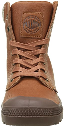 Palladium Pampa Knit Lp F - Zapatillas Mujer Marron (E79 Mocha Bisque/Chestnut)