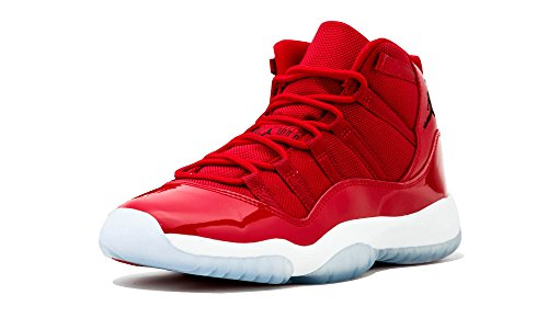 "Jordan Retro 11″ Win Like '96"" Gym Red/Black-White (Big Kid) (7)"