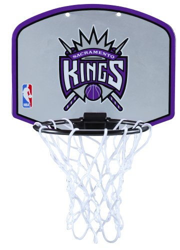 Huffy Spalding NBA Sacramento Kings Mini Hoop Set (Basketball Nba Kings Sacramento)
