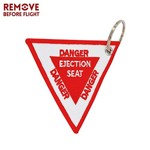 Amazon.com : HOKUGA: Red Triangle Ejection Seat 9CM Car ...