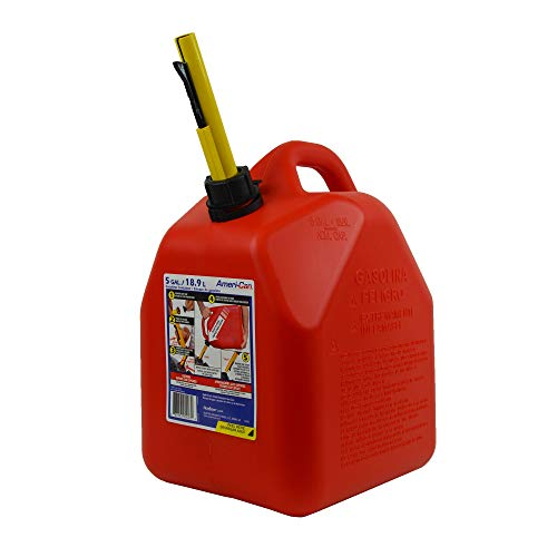 Scepter 5 Gallon EPA and CARB Certified Ameri Can Gas Can with Spill Proof Spout ()