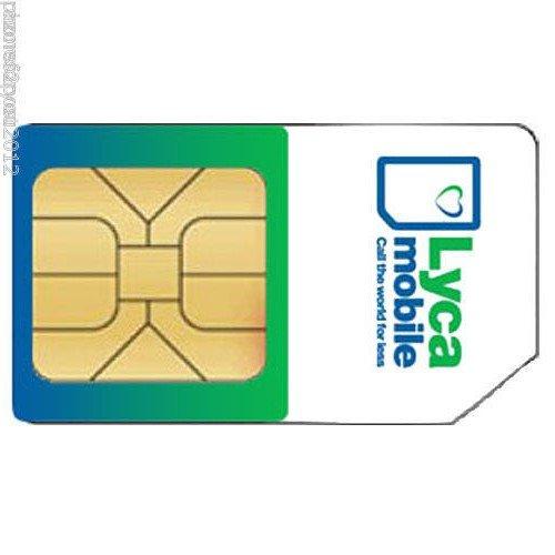 2 x Lyca mobile-micro/tarjeta SIM estándar Reino Unido compradores ...