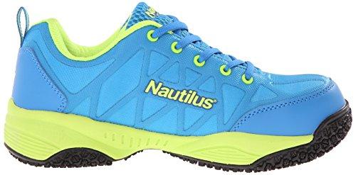 Nautilus 2154 Womens Comp Toe Leggero Antiscivolo Punta Di Sicurezza Scarpa Da Ginnastica Blu