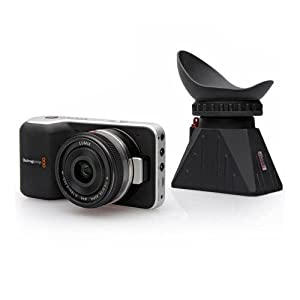 "Zacuto Camera Z-Finder for Blackmagic Pocket Cinema Camera 3.5"" LCD Screen"