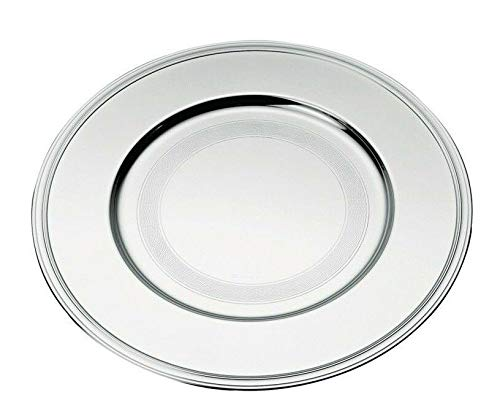 Albi by Christofle Paris France Silver Plated Charger Plate/Underplate New