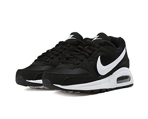 Nike Air Max Command Flex (GS), Zapatillas de Entrenamiento Para Niños Blanco-Negro