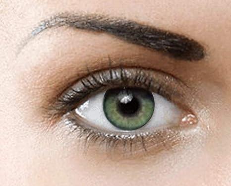 c0b94b0a6a PHANTASY Eyes® HOLLYWOOD Lentillas de color natural (JADE GREEN) - 1 par (2  PIEZAS) - sin dioptrías + INCLUYE ESTUCHE GRATIS: Amazon.es: Salud y  cuidado ...