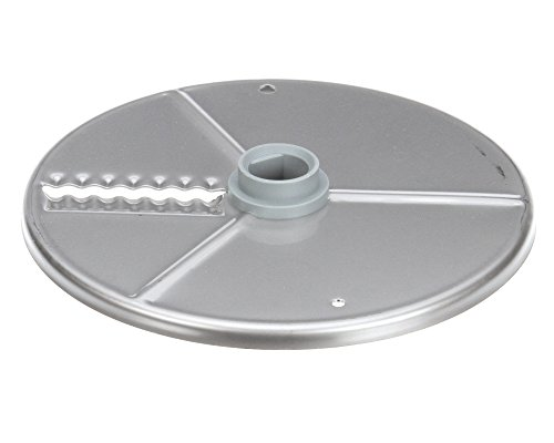 (Robot Coupe 27621 Waved Slicing Plate, 2 mm, 9