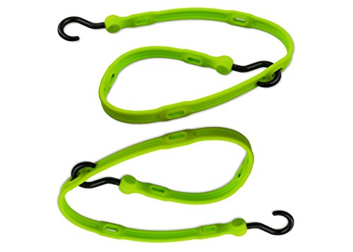 The Perfect Bungee by BihlerFlex AS36G2PK Strap Adjustable Bungee 2-Pack, 36'', Safety Green by The Perfect Bungee by BihlerFlex