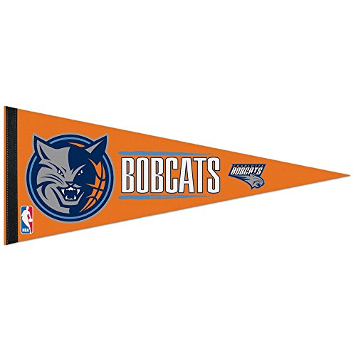 """NBA Charlotte Hornets WCR17226014 Carded Classic Pennant, 12"""" x 30"""""""