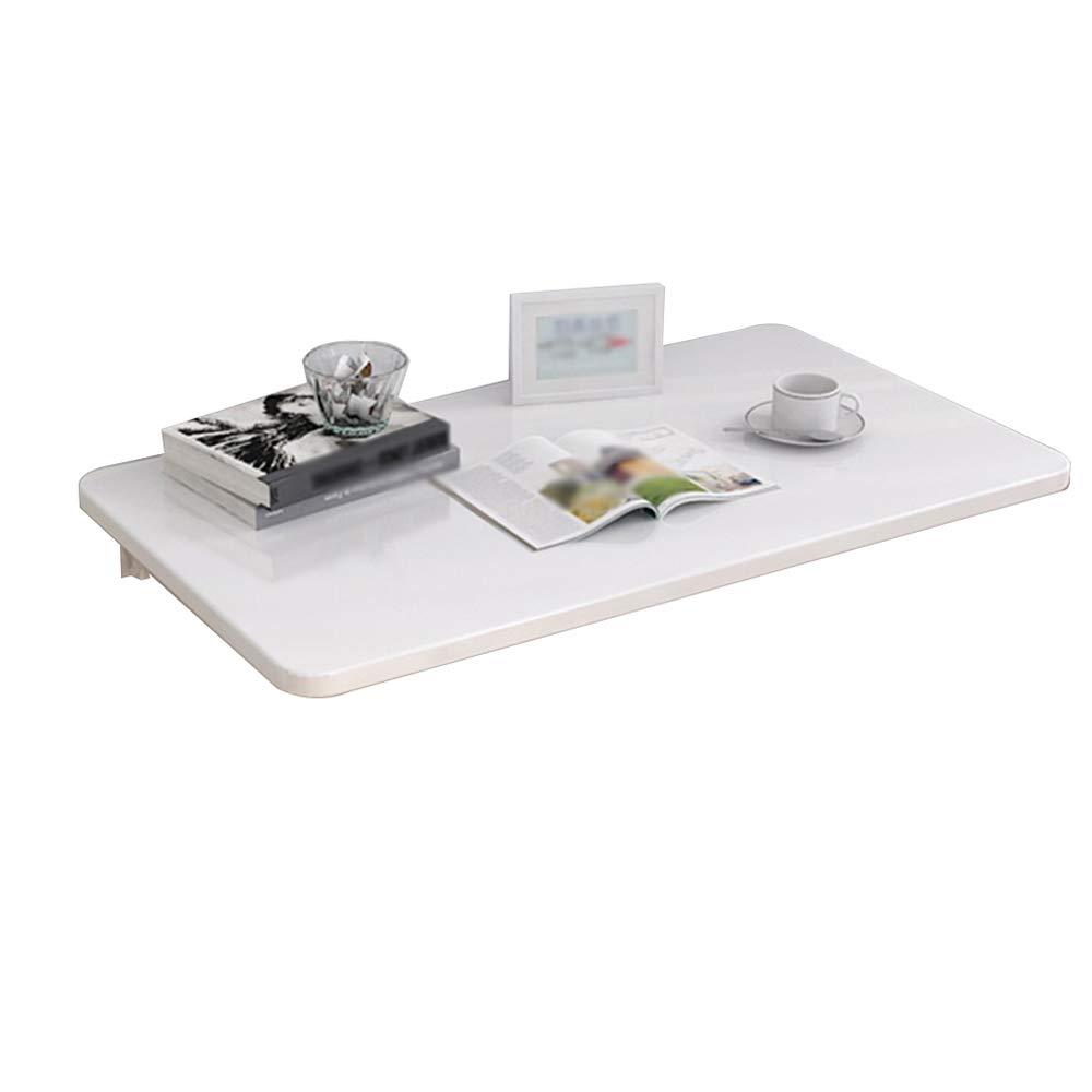 Rack De Rangement Mural pour Table Blanche Meuble De Bureau Mural Pliable pour Ordinateur (Taille   70cm50cm)  70cm50cm