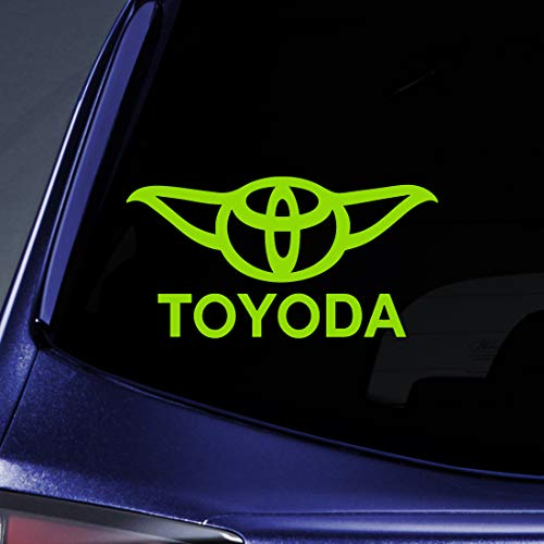 Bargain Max Decals - Toyoda Yoda - Sticker Decal Notebook Car Laptop 5