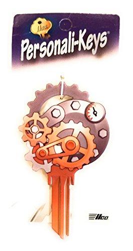 (Ilco Gears Shape Personali-Key SC1 Key Blank)