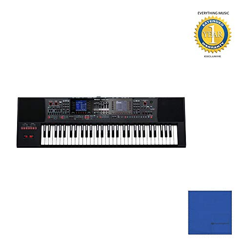 [해외]Roland E-A7 61 Keys Expandable Arranger KeyboardMicrofiber and 1 Year Everything Music Extended Warranty / Roland E-A7 61 Keys Expandable Arranger KeyboardMicrofiber and 1 Year Everything Music Extended Warranty
