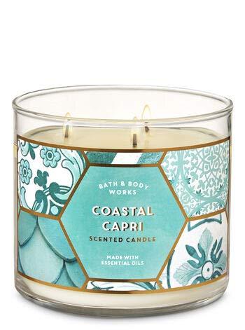Bath & Body Works COASTAL CAPRI 3-Wick Candle 14.5 oz / 411 g by Bath & Body Works